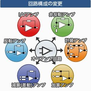 回路構成の変更