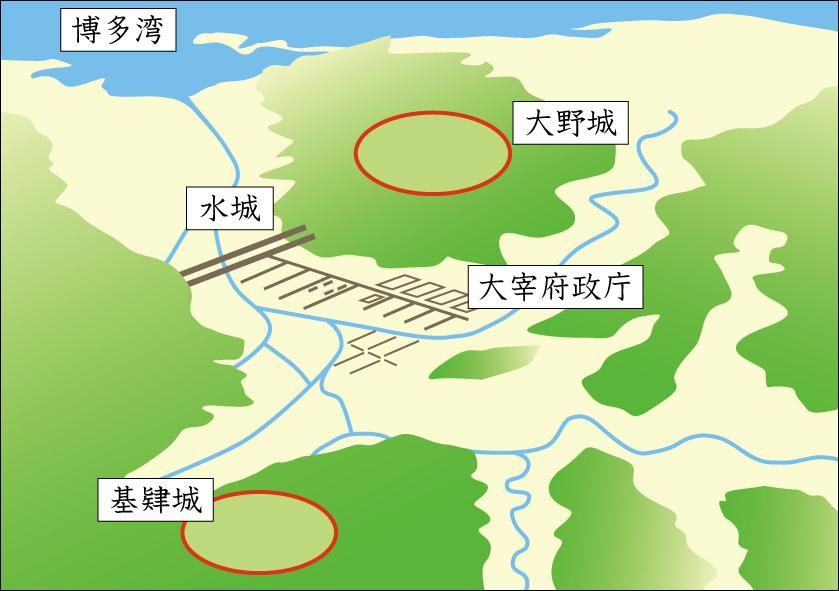 大宰府防衛図