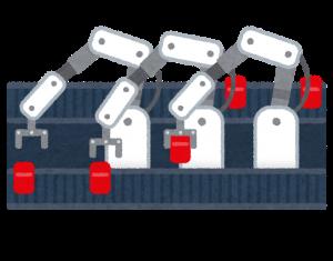 工場ロボット